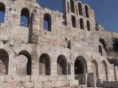 Odeon of Herod Atticus on the Acropolis in Athens, Greece