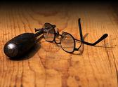 低视力 — 图库照片
