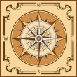 Vintage compass — Stock Vector #5887589