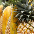Stock Photo: Pineapple And Papaya