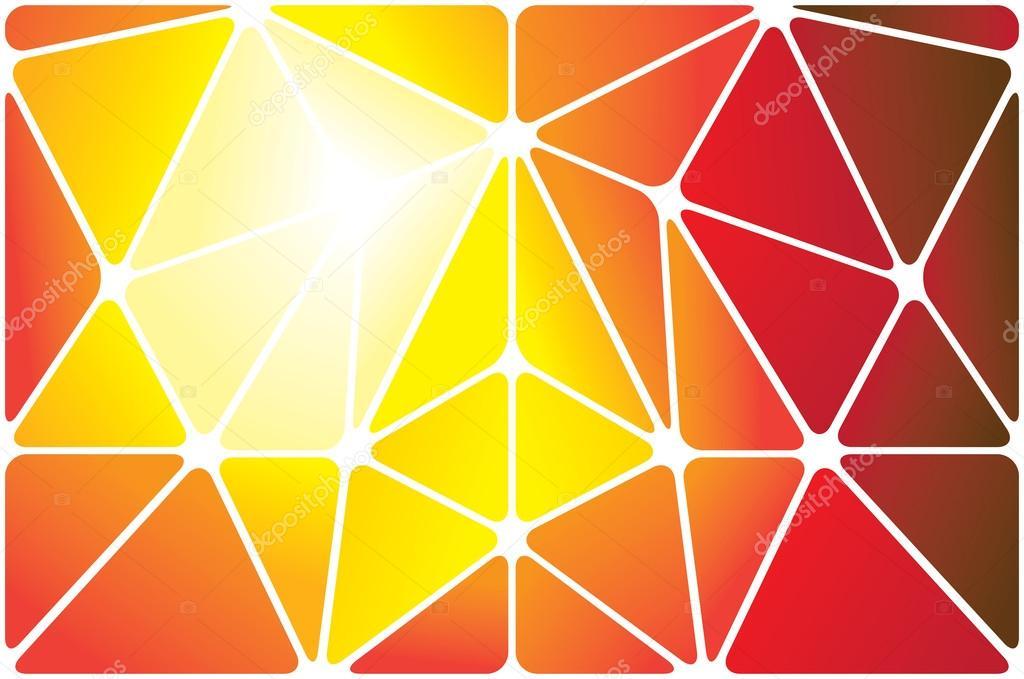 geometric yellow background illustration - photo #23