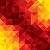 Streszczenie tło wektor kolorowy, pomarańczowy, czerwony geometrycznej sha — Wektor stockowy