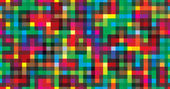Colorful background geometric seamless repetitive vector graphic — Stock Vector