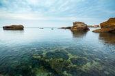 Illuminated Seascape — Stock Photo