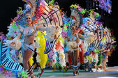 TENERIFE, March 4: Characters and Groups in The carnival. — Stock Photo