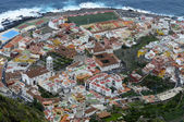 Garachico, town on the coast of Canary Island Tenerife — Stock Photo