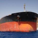 Old oil tanker — Stock Photo #51284643