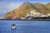 San andres, tenerife, kanárské ostrovy, španělsko — Stock fotografie