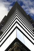 Symetrii budynku ze szkła — Zdjęcie stockowe