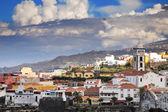 Cidade garachico, canárias ilha tenerife, espanha — Fotografia Stock