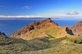 A view of the island of La Gomera, Canary Islands. From Masca, T — Stock Photo