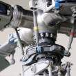 Close-up of a helicopter rotor — Stock Photo #51581685
