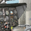 Instrumentation in rescue helicopter, cockpit BO-105 — Stock Photo #51581705