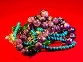 Costume jewellery — Stock Photo