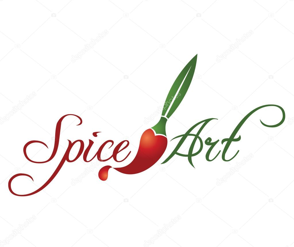 Spice Art Logo Design Stock Vector Natalja24 27290485