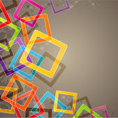Abstract background with squares — Stockvektor