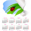 Calendar for 2014 — Stock Vector #28946595