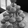Wedding cup cakes — Stock Photo