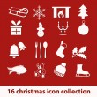 Christmas icons — Stock Vector #12564620