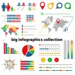 Infographics collection — ストックベクター #12644894
