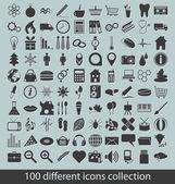 Kolekcja ikony — Wektor stockowy