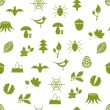 Seamless forest pattern — Stock Vector #13564692