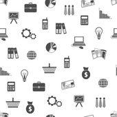 无缝金融模式 — 图库矢量图片