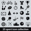Sport icons — Stock Vector #14347937