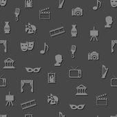 Wzór kultury bez szwu — Wektor stockowy