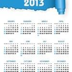 Calendar 2013 — Stock Vector #17375705