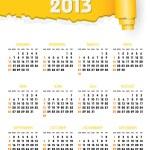 Calendar 2013 — Stock Vector #18943793
