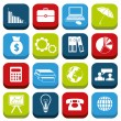 Stock Vector: Economy icons
