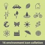 Постер, плакат: Environment icons