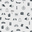Wektor stockowy : Seamless travel pattern