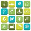 Environment icons — Stock Vector #22652907