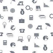 Modello di economia senza soluzione di continuità — Vettoriale Stock