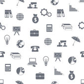 Economie naadloze patroon — Stockvector