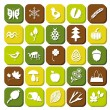 Nature icons — Stock Vector #23321656