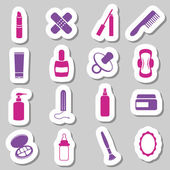 Drugstore sticker — Stock Vector