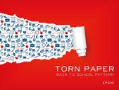 Torn paper — Stock Vector