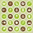 Nature icons — Stock Vector #24272175