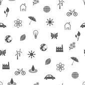 Environment seamless pattern — Stock Vector