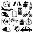 Travel doodle images — Stock Vector #26465165