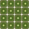 Seamless kiwi pattern — Stockvektor