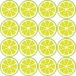 Seamless lime pattern — Stock Vector