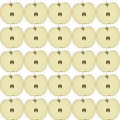 Seamless apple pattern — Stock Vector