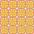 Seamless orange pattern — Stock Vector