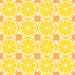 Seamless citrus pattern — Stock Vector