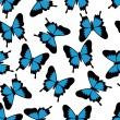 Butterfly seamless pattern — 图库矢量图片