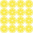 Stock Vector: Seamless lemon pattern